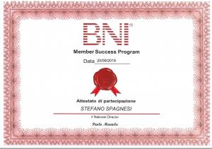Certificato BNI