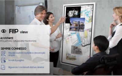 Samsung Flip rivoluziona la lavagna LIM