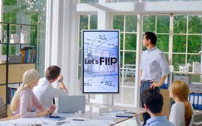 Collaboration in azienda, il ruolo delle Fliboard digitali