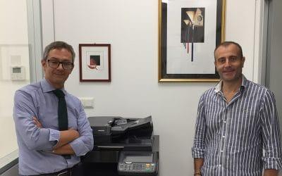 Nella nuova sede OBS Italia un omaggio ad Alberto Sivieri