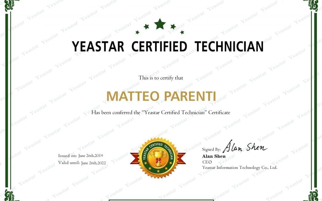 OBS Italia è certificata Yeaster