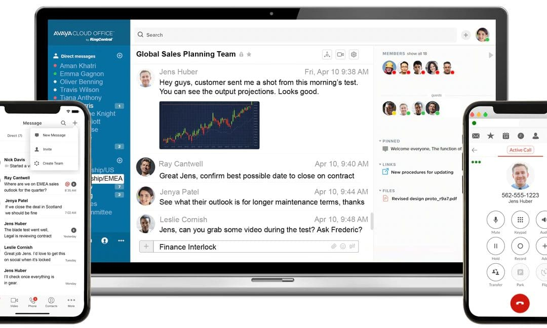 Avaya Cloud Office miglior soluzione di Unified Communication 2020